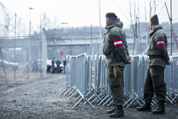 Austria:  Troops to Guard Border with Italy
