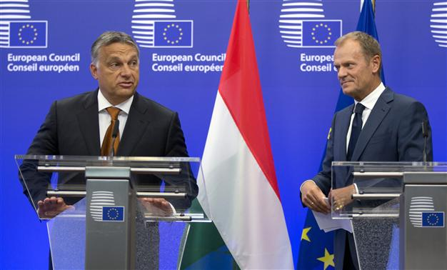 "Hungary :  PM Viktor Orban slams the EU ""Inquisition"" of Poland and the Nation State."