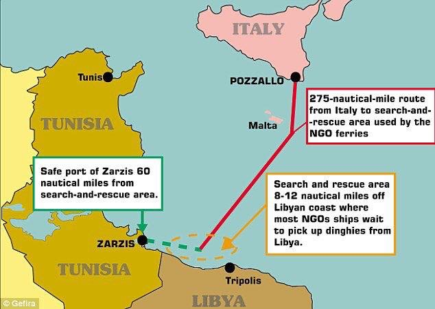 Libya To Italy Map.Libya Archives V4 Report