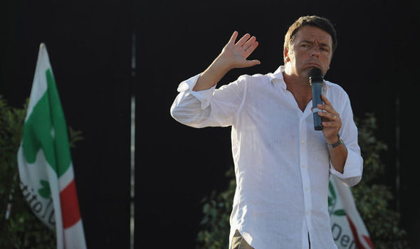 "The former PM of Italy, Matteo Renzi, erupts into another fit and threatens the V4 with an ""iron fist"" over migration."