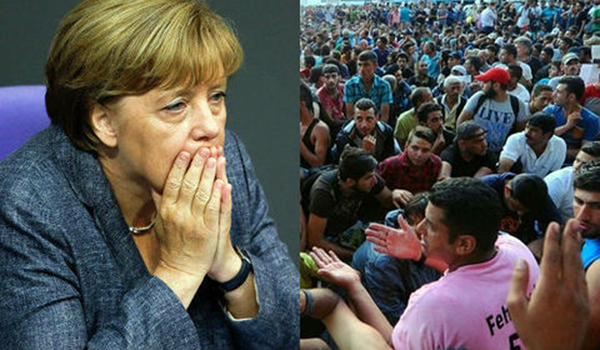 """V4 Report.  Horst Seehofer:  once the migrants enter Germany, it is """"almost impossible"""" to send them back home."""
