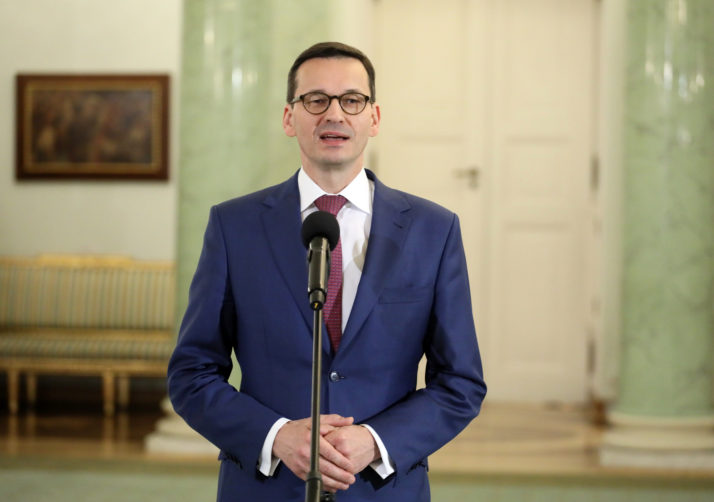 Poland: Incoming PM Mateusz Morawiecki says Poland will not bow to 'nasty threats' from Brussels