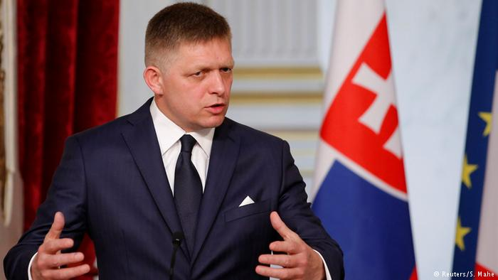 "Slovakia's PM Robert Fico: ""There is no human right to travel to the European Union and the European Union must protect itself."""