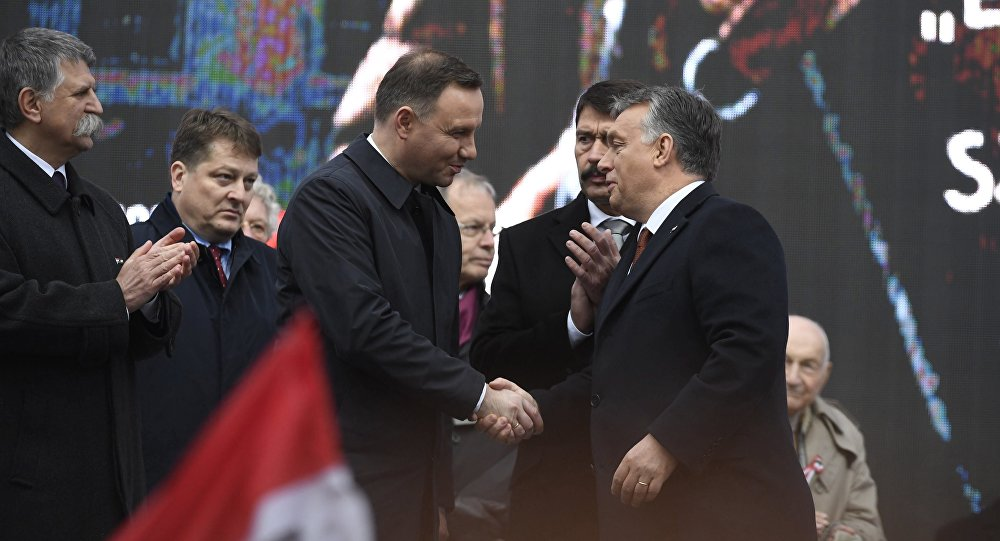 """""""If one attacks Poland, it attacks all of Central Europe."""" – PM Viktor Orban."""