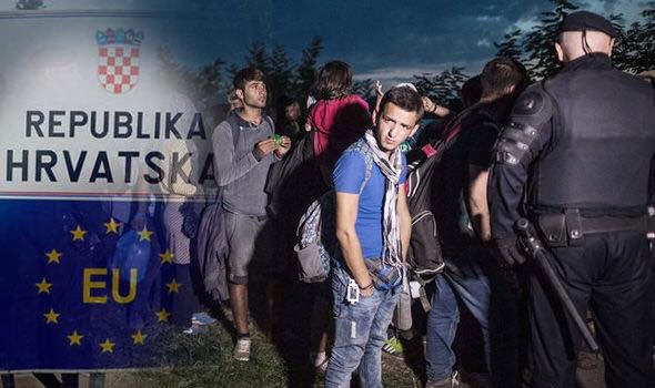 Serbian and Croatian police have detained 17 people suspected of smuggling dozens of migrants into the European Union.