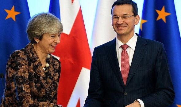 Britain:  Top Tory rips into Brussels over its treatment of Poland.