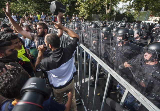 Hungary 2015 and now:  A salute to those who protect and defend Europe.