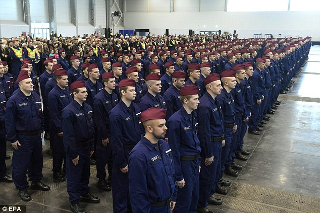 Easy for the German government to discuss mythical caps when others in Central Europe are securing their borders