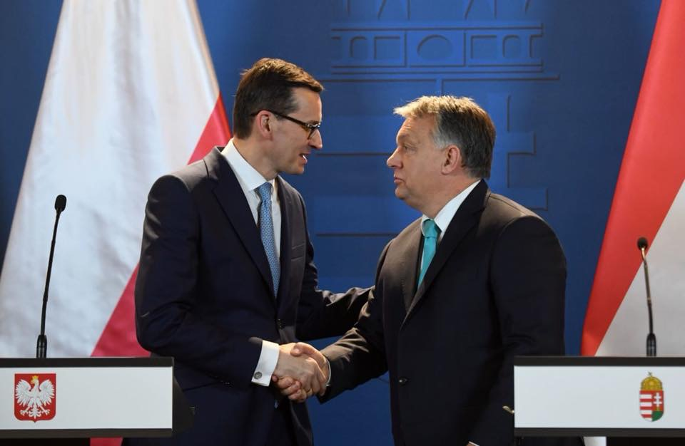 Hungary and Poland see anti-immigration stance spreading in EU.