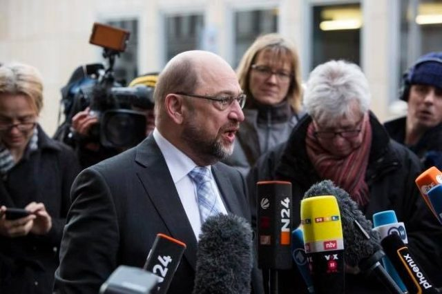 """Germany's """"Crazy Uncle"""" Schulz threatening Europe again."""