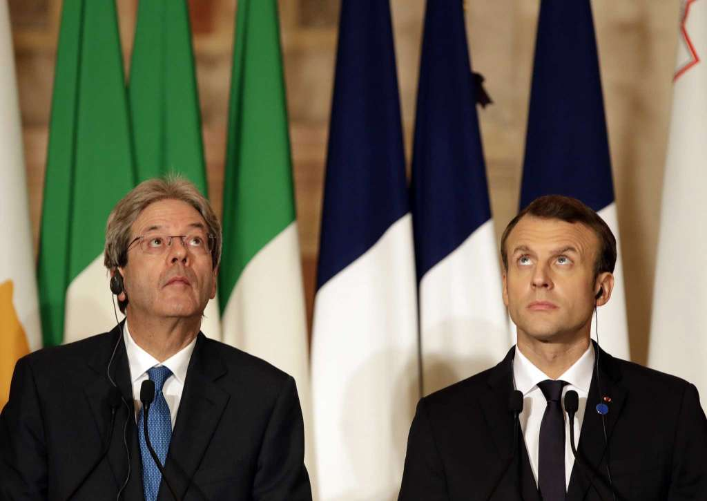 V4 Report:  French President Emmanuel Macron trying to influence the Italian elections