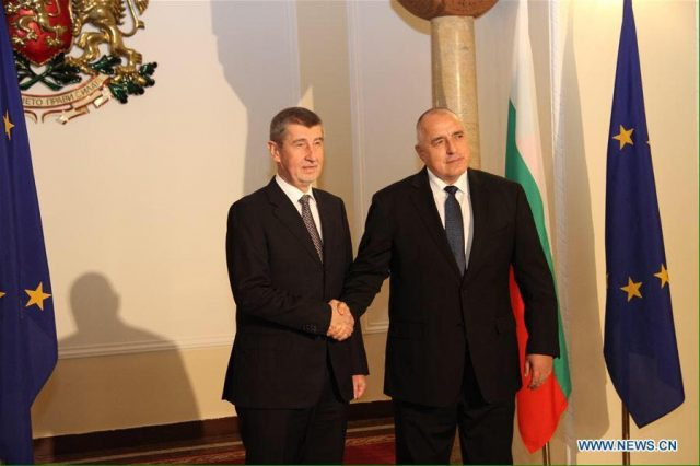 V4 Report: Bulgarian Prime Minister Boyko Borissov and his visiting Czech counterpart Andrej Babis agreed on migration