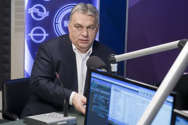 V4 Report.  Viktor Orban responds:  The government doesn't let in migrants, only refugees