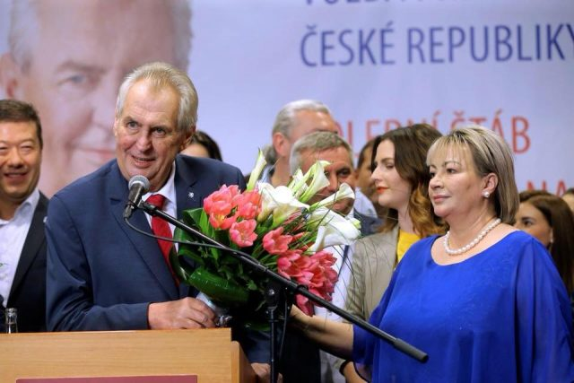 V4 Report:  Czech Republic re-elects Milos Zeman, a staunch opponent of migration