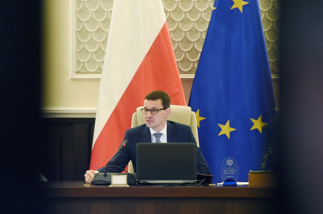 Prime Minister Mateusz Morawiecki:  Poland does not share responsibility for the Holocaust.