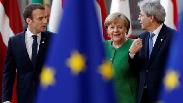 V4 Report: Angela Merkel's scheme to link EU money to migration quotas faces stiff opposition from not just Visegrad, but from others as well.