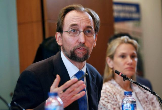 V4 Report: United Nations High Commissioner for Human Rights Zeid Ra'ad