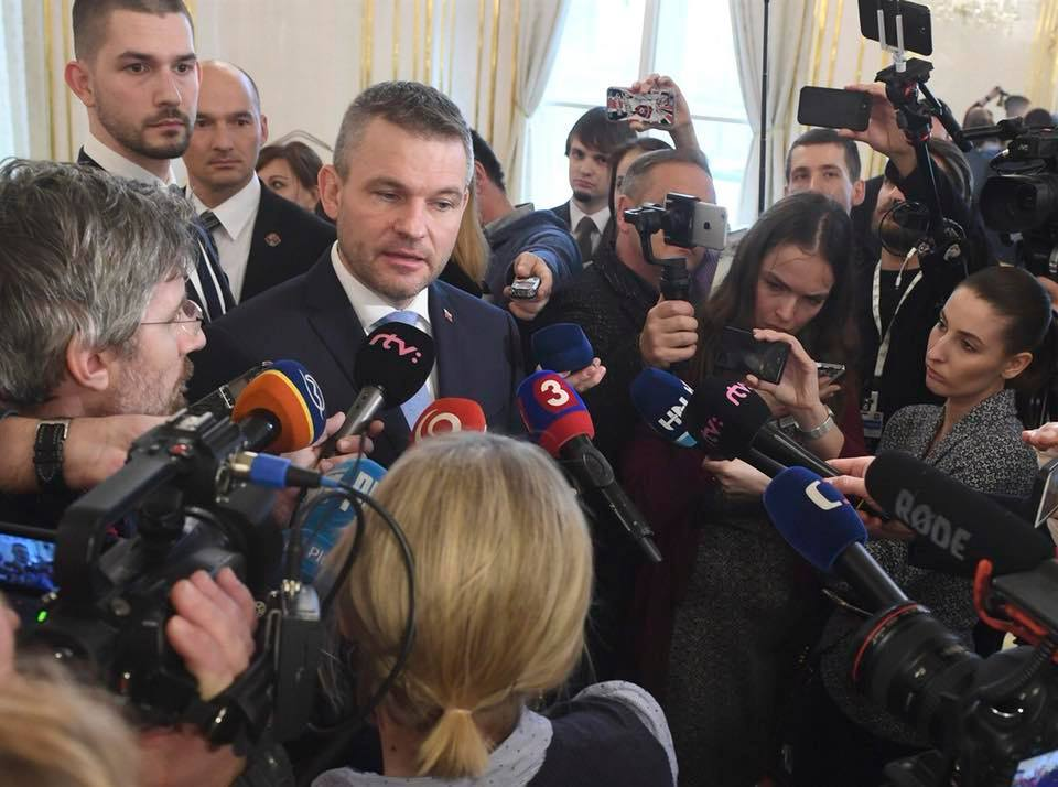 V4 Report: Slovakia ??: Some remarks from new Prime Minister Peter Pellegrini regarding EU migrant quotas and reputation of country following Robert Fico's resignation.