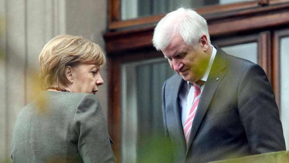 V4 Report: V4 Report: Germany 🇪🇺🇩🇪: Merkel slaps down Seehofer on migration.