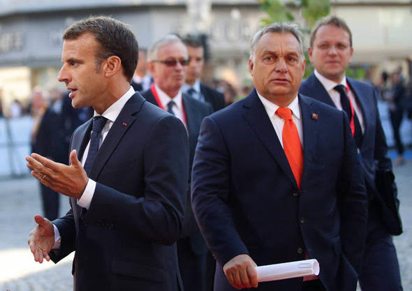 V4 Report: The Battle for the future of Europe: Viktor Orban vs. Emmanuel Macron
