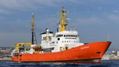 Round one.  Matteo Salvini takes bold action to defend Italy from NGO transfer ships.