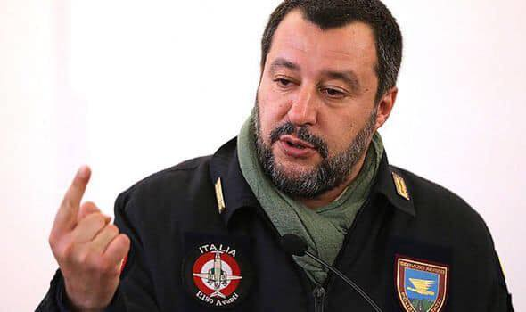 Italy's Matteo Salvini mocks 'Macron-Merkel' Pact, claiming the Franco-German alliance will soon be reshaped by new leaders at the European Parliament elections.