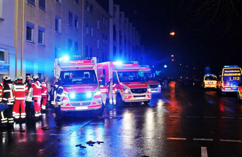 A pregnant woman from Poland stabbed in a German hospital by an Afghan migrant.