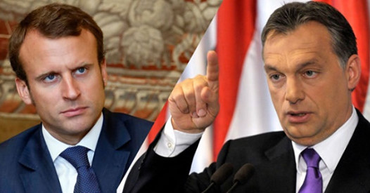 Little Emmanuel Macron of France has been trying to divide the Visegrad Group since his start. Yet, it is Macron that now finds himself isolated and his influence shrinking.