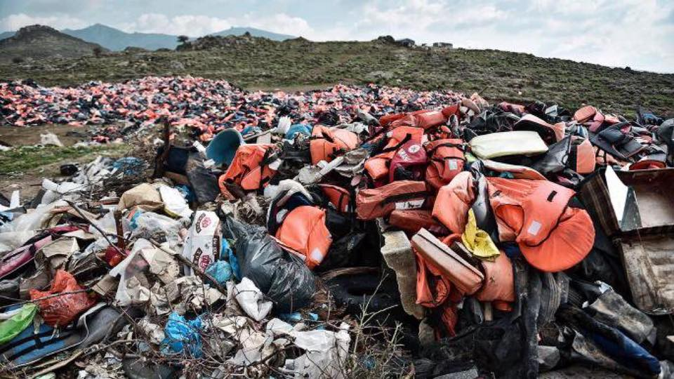 A symbol of the 2015 Mass migration crisis: We call this 'Operation Turk'.