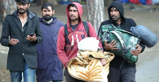 Greece Solidarity just keeps on giving: 80,000 migrants from Greece will soon be heading towards the European Union.