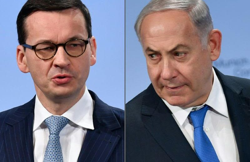 Poland PM Mateusz Morawiecki cancelled a trip to Israel following comments on the Holocaust by Israeli counterpart Benjamin Netanyahu.