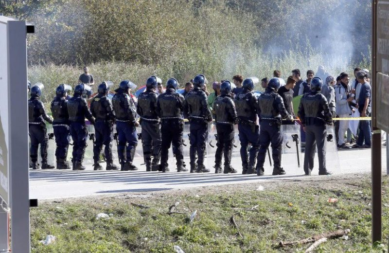 Mass brawl in Bosnia migrant processing center along Croatia border.