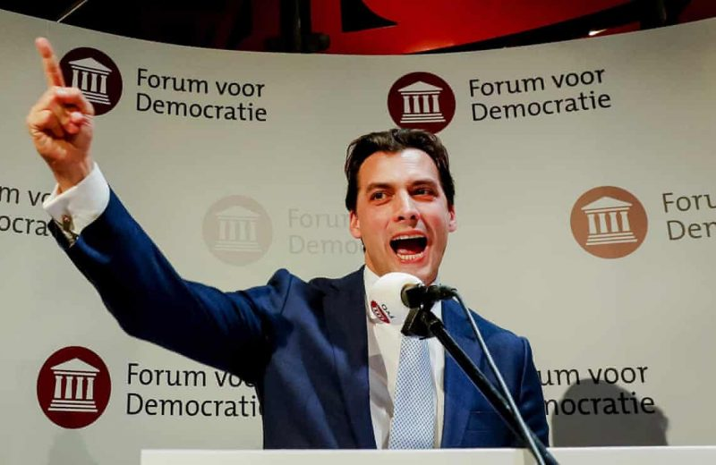 The Netherlands:  The New Right continues to emerge as a force in Europe.
