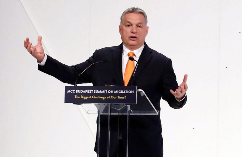 V4 Report loves the defiance. Viktor Orban continues to swipe at Brussels after suspension.