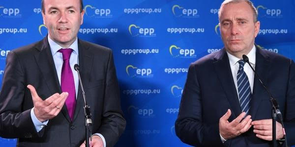 EPP party leader Manfred Weber supports opposition and has opened his attacks on the PiS in Poland.