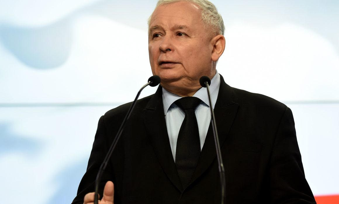 "Poland:  Jarosław Kaczyński, the leader of PiS, warned of a 12-point ""LGBT+ rights"" declaration and its ""great danger""."
