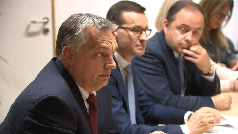 """We have several options; Fidesz will decide whether they are within the EPP or outside,"""" Viktor Orban said."""
