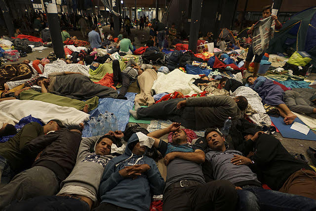 Greece continues to wave-through aggressive male migrants to others in Europe.