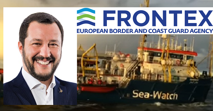 "Salvini:  ""In Libya, there are thousands of Islamic terrorists: the risk of infiltration on boats is a certainty. That's why we need firmness…"""
