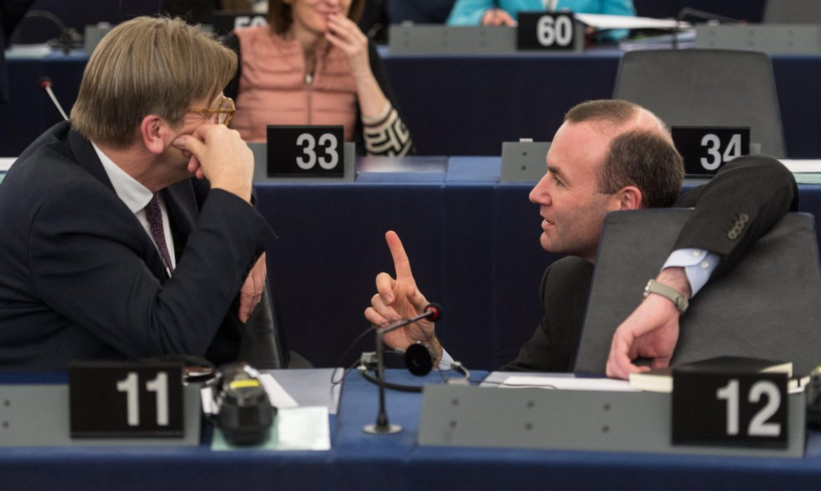 Manfred Weber revealed.  The V4 Report saw through the EPP/CSU charade years ago.