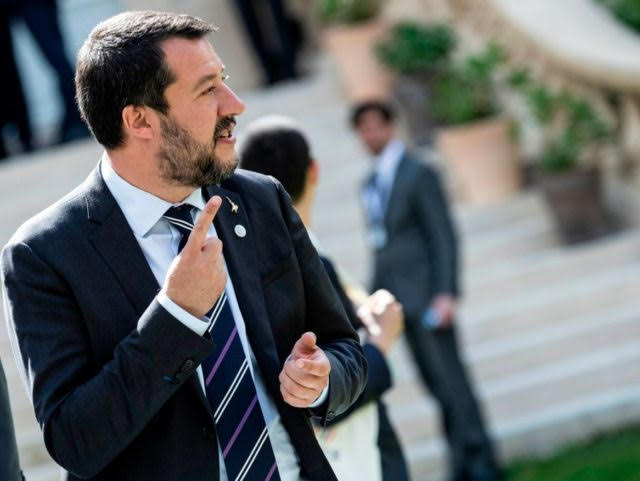 Emmanuel Macron who?  It is Matteo Salvini who is breathing fresh air into Europe.