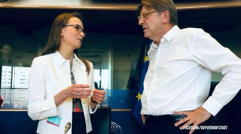 Friends of Guy Verhofstadt:  The NGO Open Dialog Foundation has been implicated in money laundering claims.