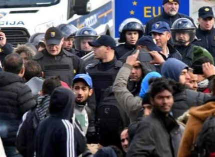 """Austria warns of """"large-scale"""" movements of illegals from Turkey."""