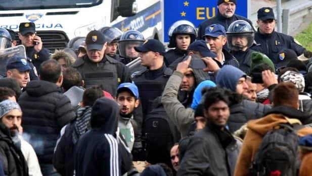 Yes, this is what happens when migrants are left to roam Europe instead of being deported outside of Europe.