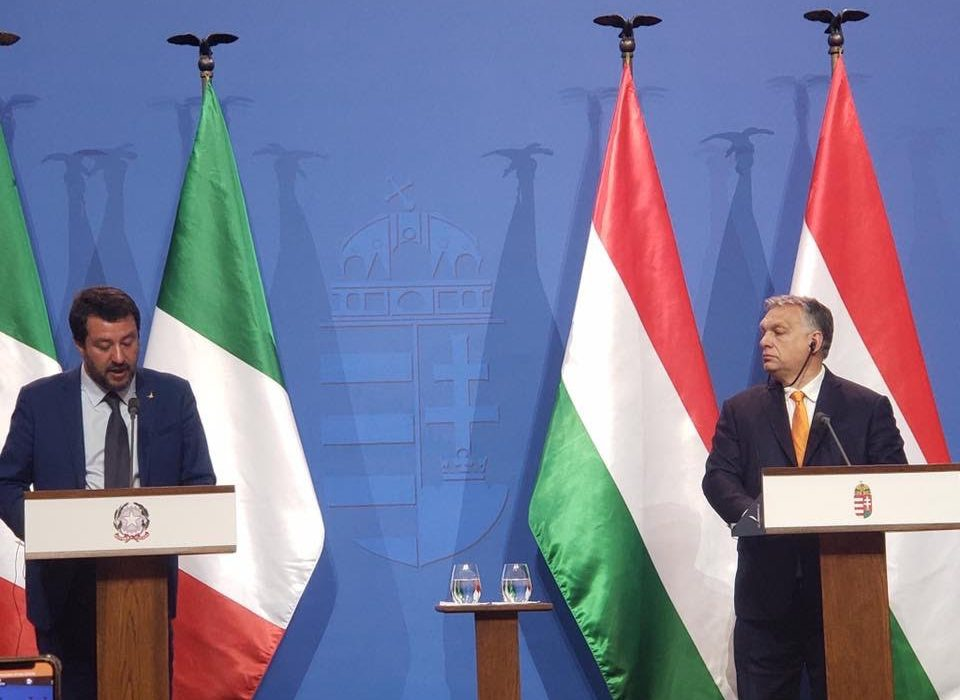 Some highlights of the Orban-Salvini press conference in Budapest.