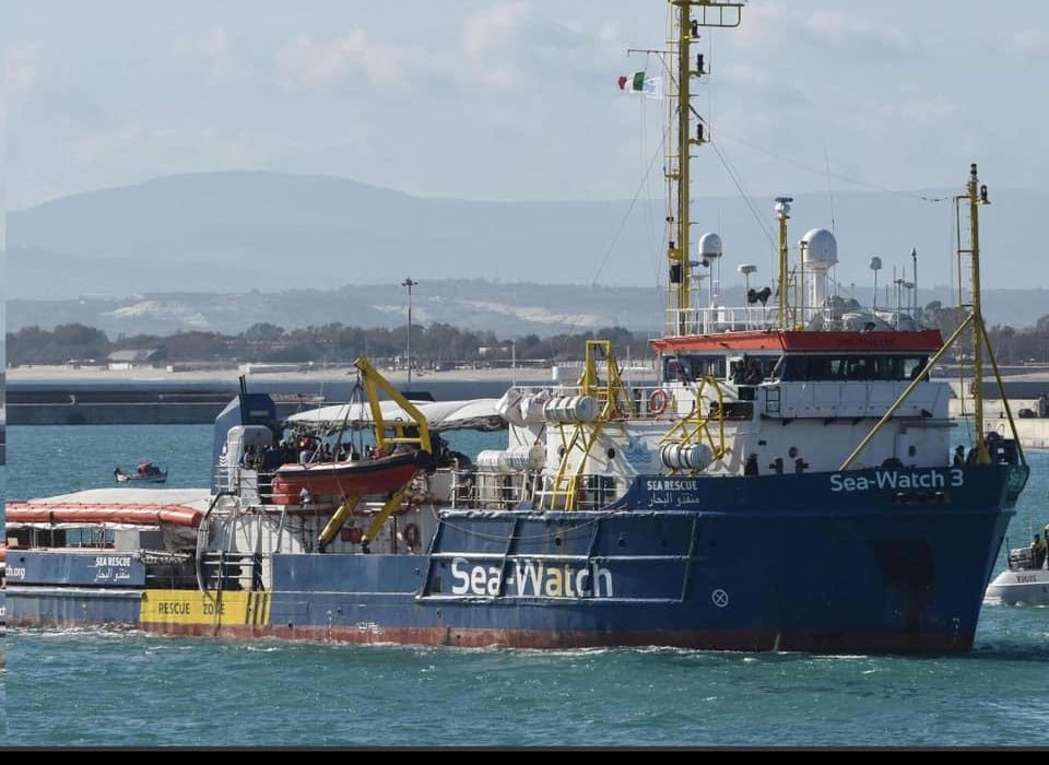 Why the EU elections matter:  Salvini defies Brussels and vows to keep the ports closed in Italy.