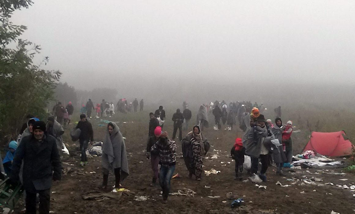 """The migrants roaming the Balkans call the transition to Croatia """"the game""""…"""