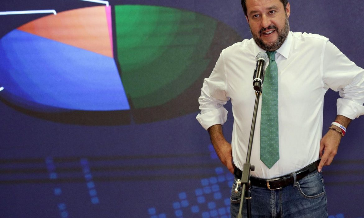Europe's Hope:  Matteo Salvini calls for 'tough response' to UN after it criticizes Italy's migrant policy.