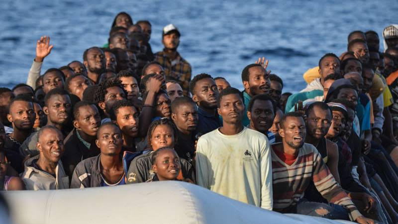 Despite all of its talk of deportation, the EU has a dismal record (5%) of sending migrants back to Africa.