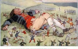 Like Gulliver, Europe has been tied down by much smaller men.